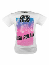 SALE £7 // Cheats & Thieves Mens High Rollin Cotton T-Shirt Tee Top in White