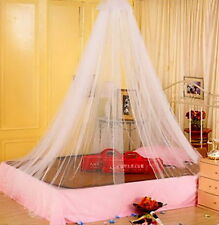 1PCS Elegant Round Lace Insect Bed Canopy Netting Curtain Dome Mosquito Net WW