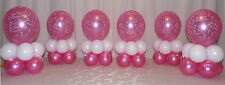 6 TABLE - 1st  HOLY COMMUNION  - GIRL -PARTY - BALLOON DISPLAY-TABLE CENTREPIECE