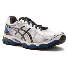 Asics GEL NIMBUS 16 Mens WHITE BLACK ROYAL Athletic Running Training Shoes