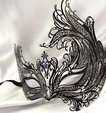 Black Swan Metal Prom Carnival Costume Bachelor Lingerie Party Masquerade Ball