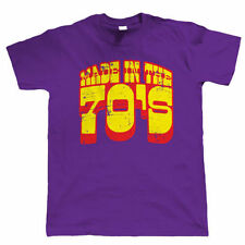 Made In The 70s Men Funny 40th Birthday Shirt