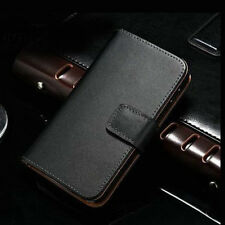 Genuine Leather Case Flip Card Holder Pouch Cover For LG Google Nexus 4 E960