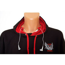 MASS MONSTER HOODIE ★ hooded gym top with pocket holder for iPod (GASP)