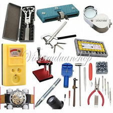 Horologe Watch Link Pins Battery Case Opener Holder Remover Repair Kit Tools Set
