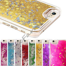 Glitter Bling Stars Dynamic Liquid Colourful Case Cover For iPhone5 5S 6 &6 plus