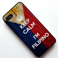 Keep Calm I'm Filipino, Philippines 2 in 1 Case Cover for Apple Iphone 4 4S 5 5S