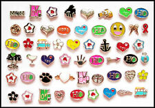 BUY 3 GET 1 FREE- Floating Charms For Living Memory Glass Locket - 4
