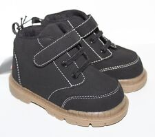 Brahma NWT Baby & Toddler Boy's Sz 2 Black Hiking Boots Shoes