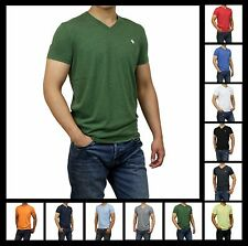 New Abercrombie & Fitch A&F by Hollister Men Muscle Fit V Neck Tee Shirt Sizes