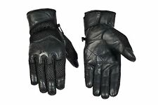 LEATHER MOTORCYCLE BIKE CYCLING GLOVES UM-105
