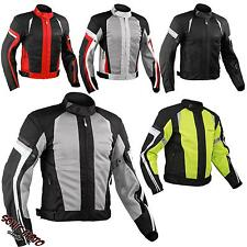 Summer Motorbike Mesh Sport Racing Touring CE Armored Jacket Motorcycle