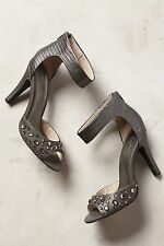 NEW Anthropologie Elevate Heels by Seychelles Size 6, Grey