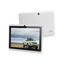 """7"""" Android 4.4 Quad Core 4GB Dual Camera Tablet PC WiFi Bluetooth+Keyboard New X"""