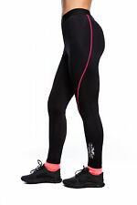 XXX Women's Compression Tights. Cycling,Yoga & Running Pants. Fitness tight pink