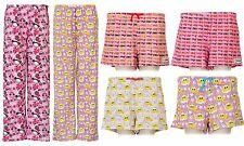 Ladies Character Pyjama Lounge Pants and Shorts in Choice of Style and Size