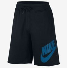 627229-010 New with tag Nike Men's KNOWS ALUMNI BLACK fleece shorts