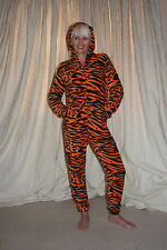 Character Tiger Animal Print Onesie-womens/,teenage boys fancy dress costume