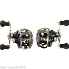 12+1 BB 6.3:1 Right/Left Hand Baitcasting Fishing Reel Bait Casting Baitcast VS
