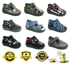 RENBUT Antibacterial boys canvas shoes / slippers / sandals / trainers NEW