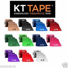 KT Tape Original Cotton Kinesiology Therapeutic Tape  1 Roll of 20 Precut Strips