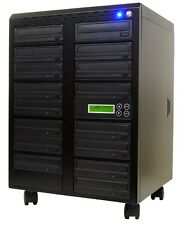 Standalone CD/DVD Duplicator Multi Burner Copier Writer Disc Replication Tower