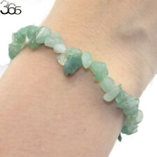Elegant Jewelry Natural Stone Gemstone Green Jade Chip Beads Stretchy Bracelet
