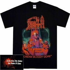 Death Scream Bloody Gore Shirt S M L XL Death Metal Tshirt Official T-Shirt New