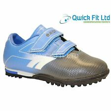 NEW BOYS ASTRO TURF TRAINERS KIDS BLUE FOOTBALL BOOTS SHOES SPORTS SIZE INFANT