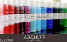 DOCRAFTS ARTISTE ALL PURPOSE ACRYLIC PAINT 2OZ -   60 COLOURS