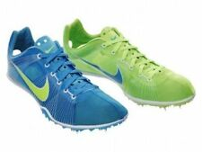 New Mens Nike Zoom Victory Spikes Running Shoes sz 12 Blue Green 331036-430