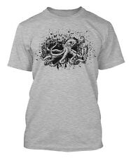Octopus Ink Splattered - Artistic Animal Men's T-shirt