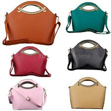 Elegant Women Ladies PU Leather Messenger Bag Shoulderbag Handbag Purse Tote