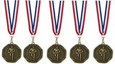 Rugby Medals with Ribbons Set of 20 or 40 FREE ENGRAVING and FREE POST