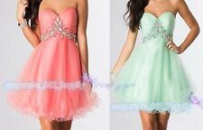 Short/Mini Cocktail Dresses Party Homecoming Formal Bridesmaid Prom Dresses6-16