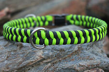 550 Paracord Fishtail Weave Dog Collar
