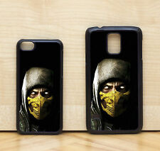 Scorpion Mortal Kombat X Game Character Glossy Case Cover for iPhone & Samsung