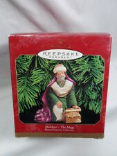 1999 Hallmark Keepsake Ornament Melchior The Magi Blessed Nativity Collection