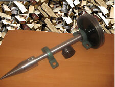System of Shaft Pulley + SCREW TYPE  LOG WOOD SPLITTER for any MOTOR
