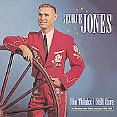 George Jones - She Thinks I Still Care-Complete United Artists/Re CD Box Set New
