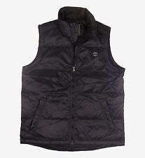 Timberland Men's Waterproof Nylon Black Vest Style #6141J