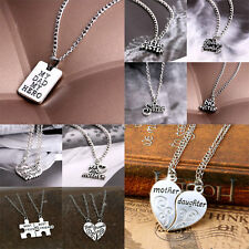 Jewelry Gift Hot Sister Mother Dad Family Best Friend Love Cool Pendant Necklace