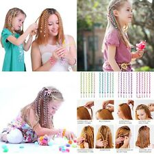 6pcs Braiding Spiral Curlers Rollers Head Dress Band Kids Girls DIY Hair Styling