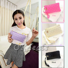 New Fashion ladys Women Soft Leather Clutch Wallet Long PU Card Purse Handbag