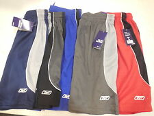 Reebok  Mens Athletic  Gym Basketball Training shorts With 2 side seam pockets