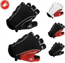 Castelli Fingerless Gloves Cycle Mitts Silicone/gel on palm S/M/L/XL
