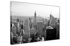 BLACK AND WHITE NEW YORK CITY PRINTS WALL ART CANVAS PICTURES FRAMED POSTERS