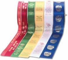 PERSONALISED CUSTOM PRINTED RIBBON TEXT OR LOGOS TO YOUR DESIGN BULK TRADE (3)