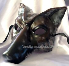 Wolf Masquerade Mask for Man Birthday Bachelor Steampunk Halloween Party Prom