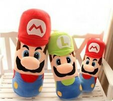 Hot Super Mario Brothers Plush Toy Doll Pillow Cushion Birthday Gift